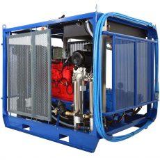"500 - 2,800 bar hydrodynamic equipment ""Poseidon"" with autonomous drive"