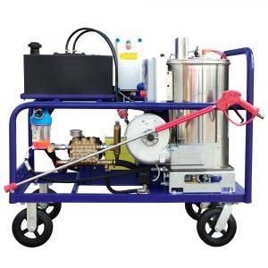 Poseidon E15-Th apparatus series, 15 kW (380 V), 500 bar, 17 l/min , with heating