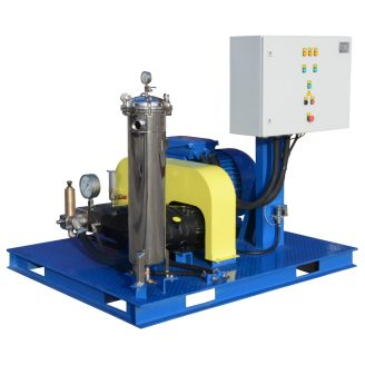 "Extremely high pressure hydrodynamic equipment ""Poseidon"" for 500 - 2,800 bar"