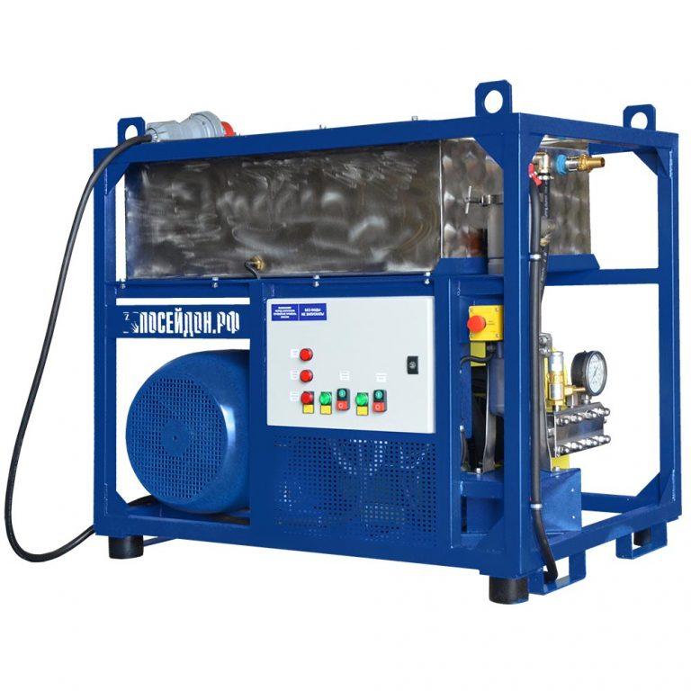 Poseidon E55Cube apparatus series, 55 kW, 500-1,500 bar, 20-57 l/min