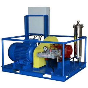 Poseidon E250 apparatu s series, 250 kW, 200 – 1,500 bar, 75 -620 l/min