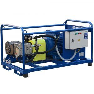 Poseidon E55 apparatus series, 55 kW, 500-1,500 bar, 20-57 l/min
