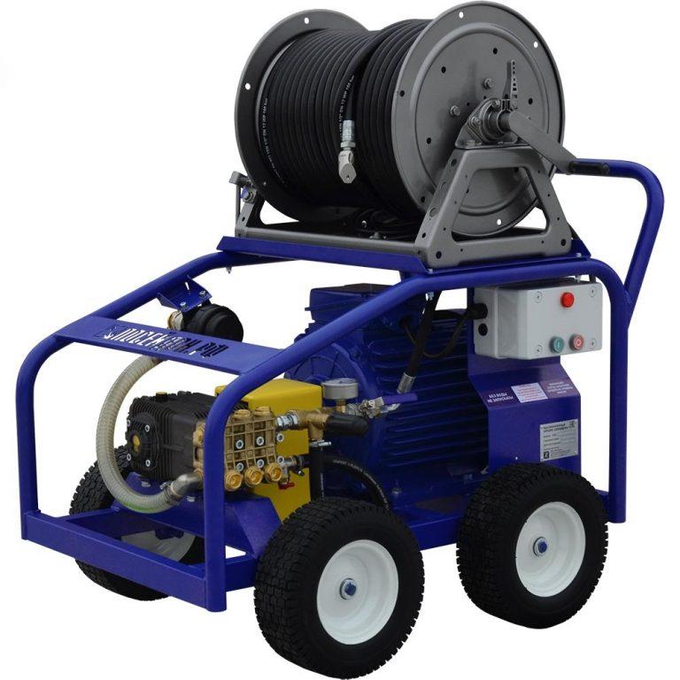 Series of Poseidon E15 apparatus, 15 kW (380 V), 150-360 bar, 21-50 l/min