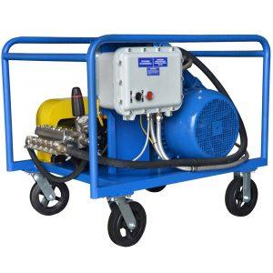 Poseidon E30-500-30-1Ex apparatus, 500 bar, 30 l/min