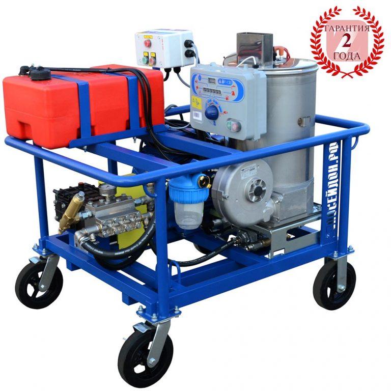 Poseidon E30-Th apparatus series, 30 kW (380 V), 500 bar, 30 l/min, with heating