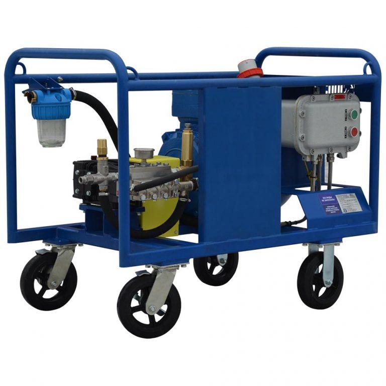 Poseidon E15-500-17-1Ex apparatus, 500 bar, 17 l/min