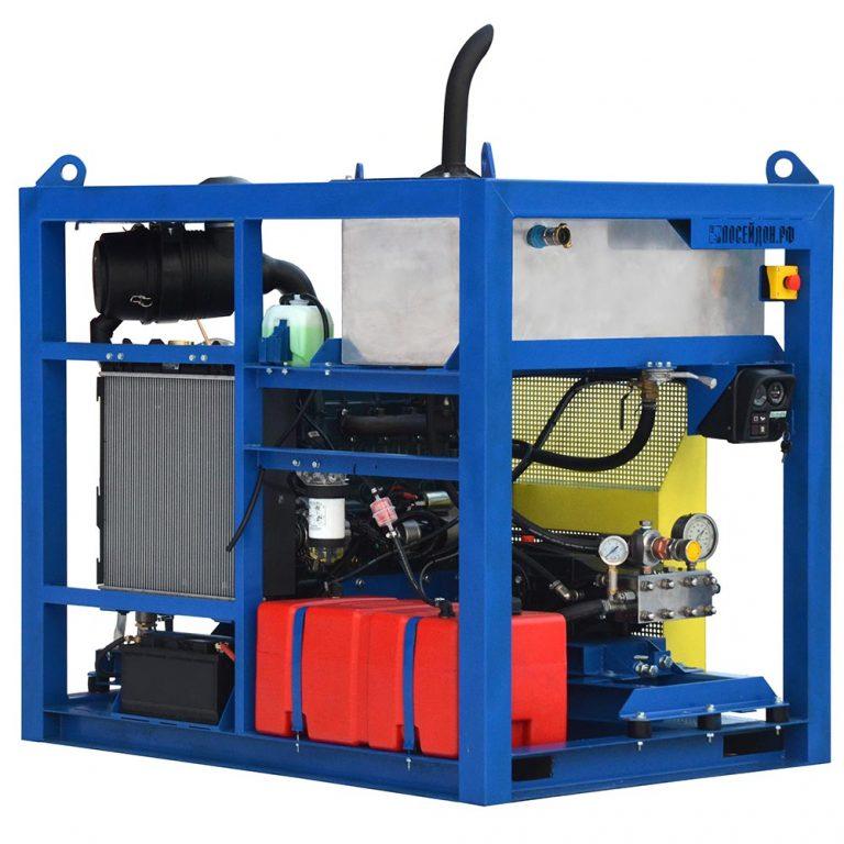 Poseidon DT45Cube apparatus series, 45 hp, 500-1,000 bar, 15-30 l/min