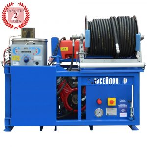 Series of apparatus Poseidon B24S-Th, 100–360 bar, 23/24/27 hp, 21–75 l/min, with heating