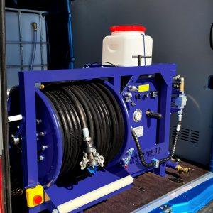 Series of Poseidon B35S-Manual apparatus, 35 hp, 160-200 bar,  55-73 l/min