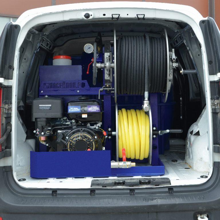Series of Poseidon B13S-Th apparatus with heating, 140 – 240 bar, 12/13/15 hp, 20 – 30 l/min