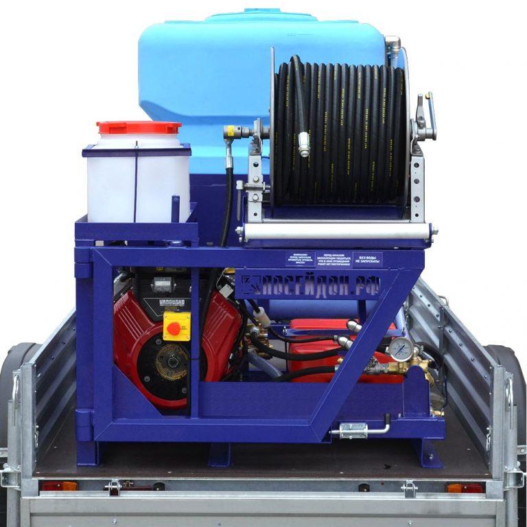 Series of Poseidon B24S apparatus, 100–360 bar, 23/24/27 hp, 21–75 l/min