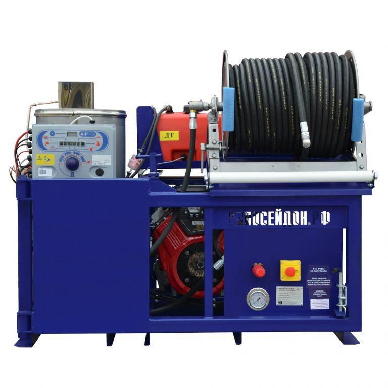 Series of Poseidon B24S-Th apparatus, 100–360 bar, 23/24/27 hp, 21–75 l/min with heating