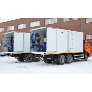 Series of Poseidon apparatus, 250 bar, 466 l/min, on the basis of diesel engine 400-530 hp
