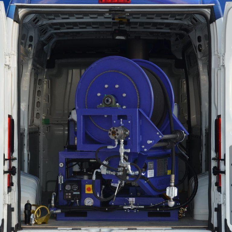 Series of Poseidon DT100S apparatus, 96 hp, 180-250 bar, 130-200 l/min