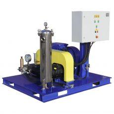 "500 - 2,800 bar hydrodynamic equipment ""Poseidon"" with electrical drive"