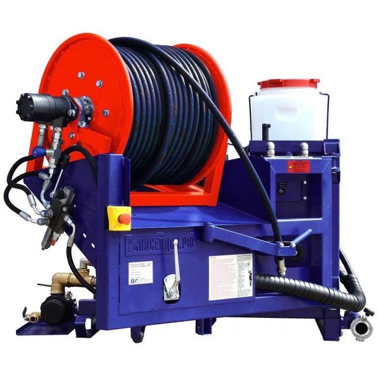 Series of Poseidon B40S apparatus, 35/40 hp, 100-320 bar,  43-142 l/min